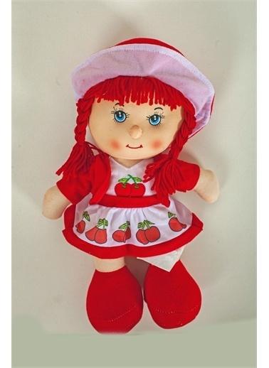 Duman Oyuncak Elbiseli Bez Bebek Kırmızı